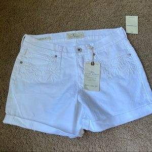 NWT Lucky Brand The Roll Up Shorts